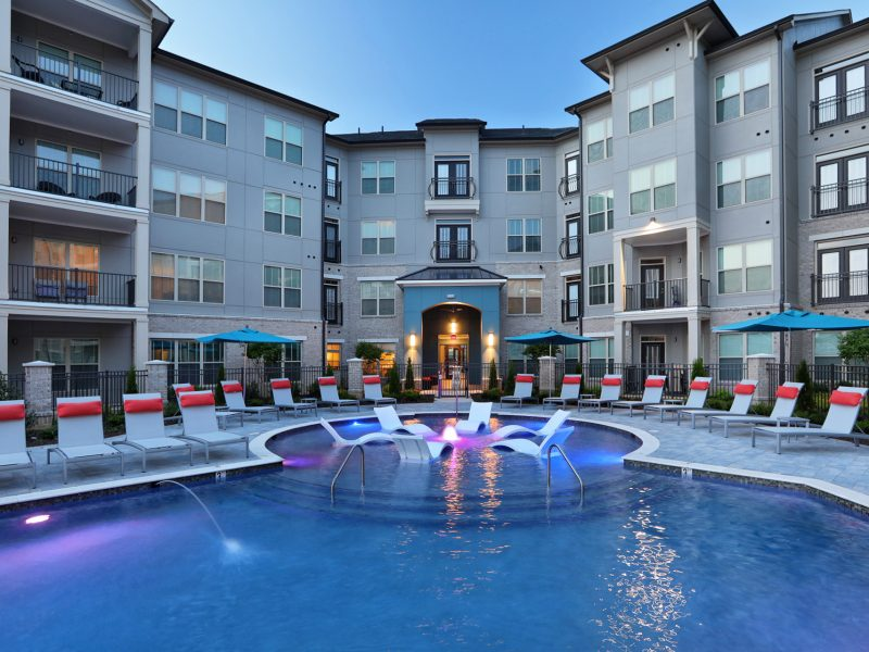 apartments with pool